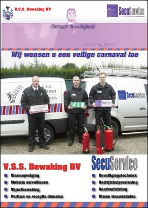 V.S.S. Bewaking BV & SecuService: partners in veiligheid